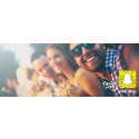 LOS Ung coverbilde inkludert SnapChat ikon