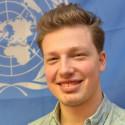 Bendik fra Heimdal blogger for FN
