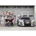 Edward Sandström och nya Audi R8 LMS vann Nürburgring 24-timmars