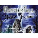 Hammerfall gör sin enda Sverigespelning i Scandinavium