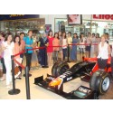 QNET sponsored Marussia F1 Team Show Car arrives in Kyrgyzstan