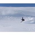 107 centimeter snö i Hemavan Tärnaby