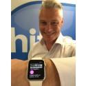 I tid – nu finns Hitta.se på Apple Watch!