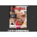 Nytt nummer av populära Comfort Magazine - med intressanta reportage