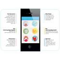 Let's talk, mobil app, en översikt (pdf)