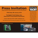 Digital Yacht  New Product Introduction & Press Launch at the London Boat Show