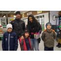 Kreativt författat tävlingssvar gav 50000kr mat till barnfamilj