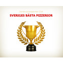 Trädgårdsbaren är Söderhamns bästa pizzeria 2014