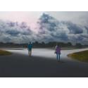Världsutställaren Kristoffer Axén visar sin konst på Vasaplan