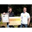 Personalsatsning gav skogsentreprenör lönsamhet och priset Golden Logger