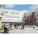 Byggeweb Projekt anvendt i byggeprocessen for Østfold Sygehus i Norge
