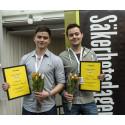 Unga entreprenörer tar hem utmärkelsen Security Expert of the Future 2015