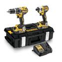 DEWALT 18V XR Brushless Twin Pack DCK266 2AH