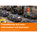 Prissättning och information vid taxiresor - Intermetra