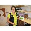 Hon prisas för sitt arbete i demensvården