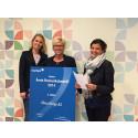 Alma Norge AS kåret til 2. plass av Årets Romeriksbedrift 2014