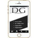 En enkel mobil app för frågor om Digital Film eller Digitalt Glas - hur fungerar detta..