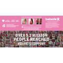Instagram-julkkikset mukana taistelemassa rintasyöpää vastaan