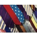 600 slipsar blir till julgran i Textile Fashion Center