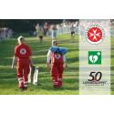 Lidingöloppet Hjärtsäkrar – närmare 40 hjärtstartare på arenan