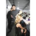 Kérastase og Hårstylisten Luigi Murenu backstage på Givenchy SS16