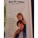 Tidningen Vi Föräldrar lyfter fram Dadslife.se på landets alla BB