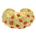 Smyckekvaliten 28 november, Nr: 228, DAVID WEBB, armring, 18K guld