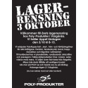 Annons: Lagerrensning hos Poly-Produkter / PolyRopes 3 oktober 2015