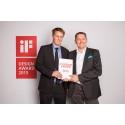 Atlas Copcos LT-stamper får den prestisjefylte iF-designprisen