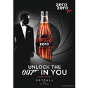 'COCA-COLA ZERO' ER PARTNER FOR DEN NESTE JAMES BOND-FILMEN: SKYFALL™