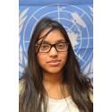 Mina fra Gildeskål skal blogge for FN
