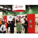 Hälsa på Mitsubishi Electric på Hem & Villamässan