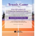 Utmana dina Facebook-vänner i Collector Tennis Game