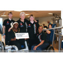 Disabled fitness instructors show their skills to Harrow Mayor