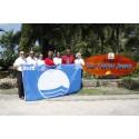Las Cuevas stranden på Trinidad mottaker Blue Flag Award