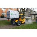 Miljövänlig ogräsbekämpning med hjälp av vattenånga