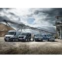 Renault i top tre i antal solgte varebiler i Danmark
