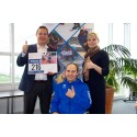 TCS participates in Helsinki City Run to support Finnish Paralympics Team