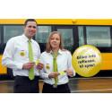 Knapp på bussförare ska locka fler att bära reflex