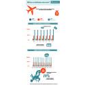 Infographic flight prices