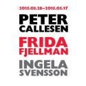 Pressvisning: Tre nya utställningar på Eskilstuna konstmuseum - Peter Callesen, Frida Fjellman och Ingela Svensson