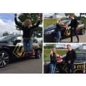Grattis Marie Masterson till ny tjänst samt ny bil!
