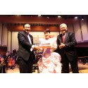 ComChest-SCO Mother's Day Charity Concert 2014 - Special overseas guest artiste, Ms Judy Ongg at the event