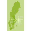 Solhagagruppens regioner