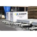 K-rauta erbjuder gratis släpvagnar
