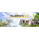 Hållbarhetsfest, utställning och mobilt växthus  vid Flaten lördagen den 30 maj