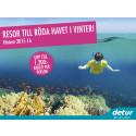 Röda Havet i ny höst- och vinterkampanj från Detur