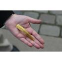 Armring af guld fra vikingetiden fundet med metaldetektor af Pawel Piotr Konieczny