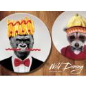 Wild Dining-tallerkener