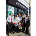 Young Eye Cancer Survivors Officially Open Vision Express in Westbury-on-Trym
